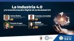 WEBINAR UISEK: La Industria 4.0 y la transformación Digital de la Sociedad 5.0