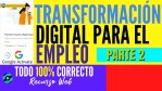 🎯Transformación digital para el empleo en Google Activate ✅Todo 100% Correcto | Parte 2