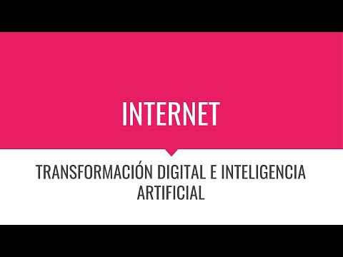 M - Transformación digital e inteligencia artificial