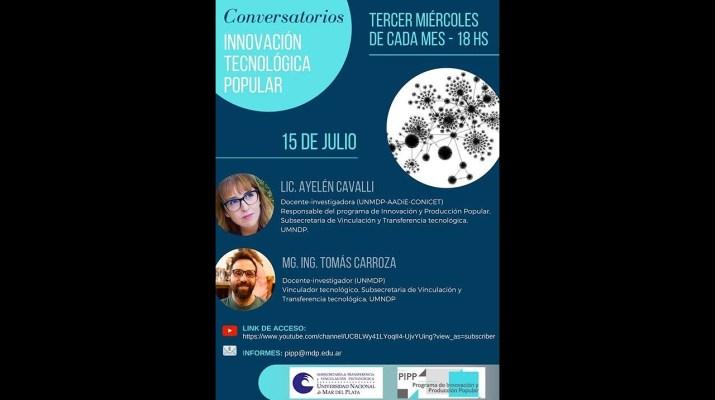 Conversatorios Innovación Tecnológica Popular 15/7