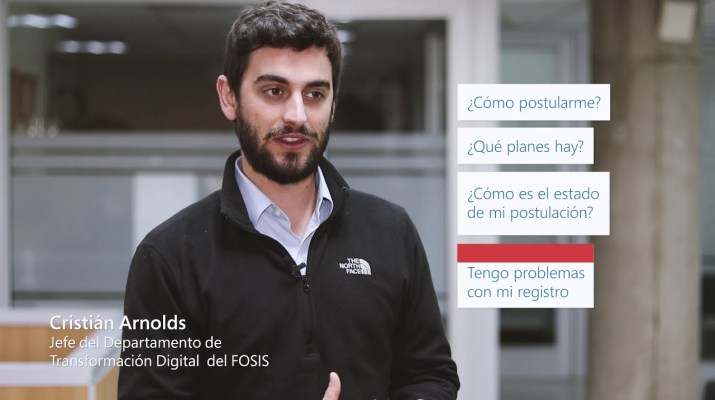 FOSIS incorpora la inteligencia artificial y Microsoft Azure a sus servicios