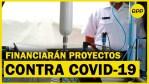 Financiarán innovaciones tecnológicas que luchan contra el COVID-19 en el Perú