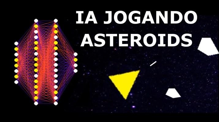 Inteligência Artificial Jogando Asteroids