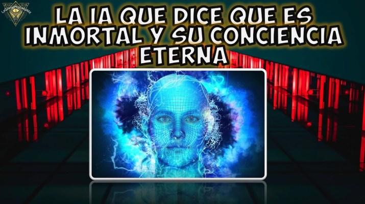 Inteligencia artificial que se cree inmortal