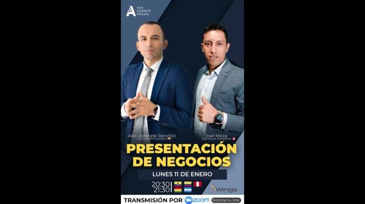 Presentación de Negocios WINGS MOBILE 2021 - Joel Meza  y Alex Alderete (Ecuador)