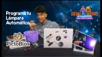 Programa tu lampara automática - Curso Arduino con Pictoblox