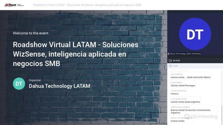 Roadshow Virtual Latam   Soluciones Wizsense, inteligencia aplicada en negocios SMB - PyMES