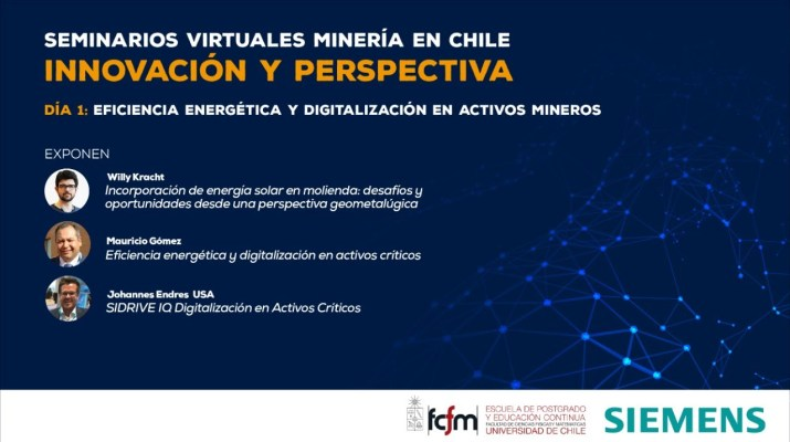 Seminarios virtuales Minería en Chile: Innovación y perspectiva