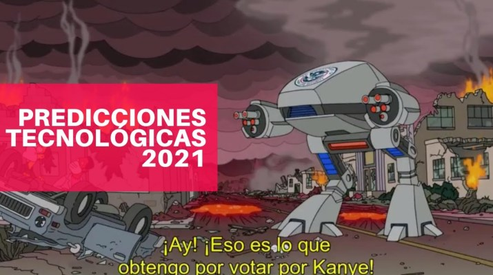 TOP Predicciones de tecnología para este 2021