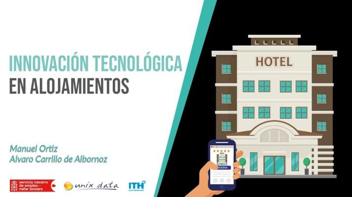 Webinar | Innovación tecnológica en alojamientos