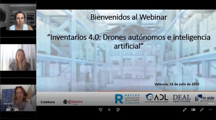 Webinar Inventarios 4.0 con Drones autónomos e inteligencia artificial