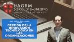 Bienvenida al curso de Gestión de la Innovación Tecnológica en las Organizaciones