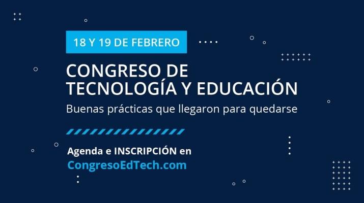 CONGRESO Tecnología y Educación