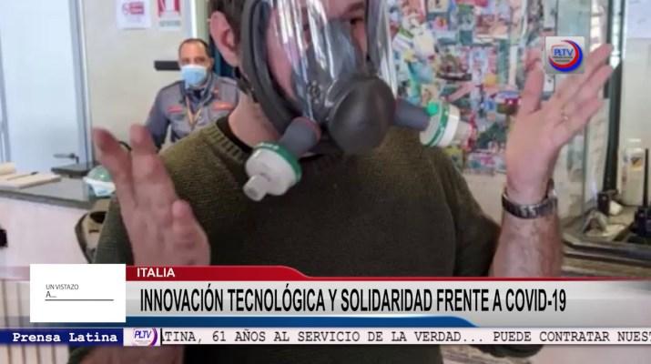 Innovación tecnológica y solidaridad en Italia frente a la Covid-19