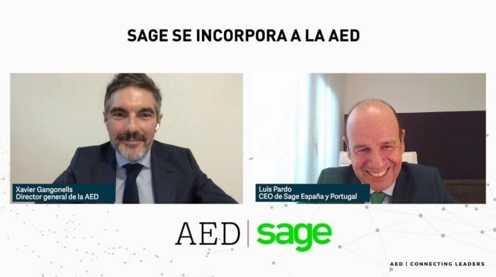Sage entra en AED para contribuir con su experiencia en la transformación digital de las pymes