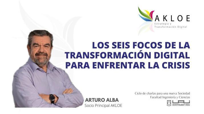 LOS SEIS FOCOS DE LA TRANSFORMACIÓN DIGITAL PARA ENFRENTAR LA CRISIS