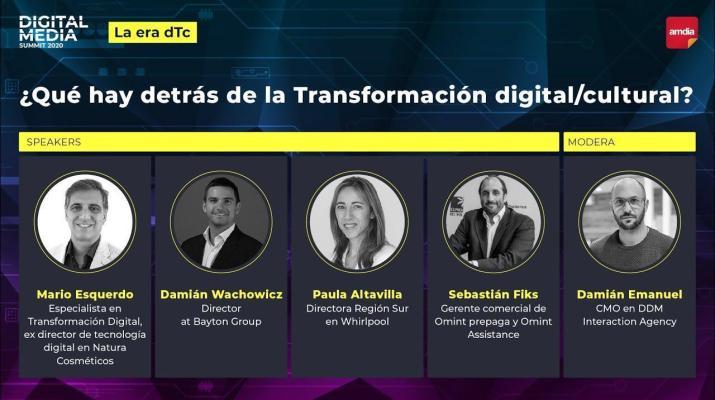 ¿Qué hay detrás de la transformación digital/cultural? - Digital Media Summit 2020