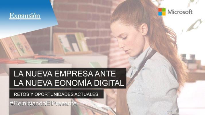 La mediana empresa ante la nueva economía digital  Retos y oportunidades actuales