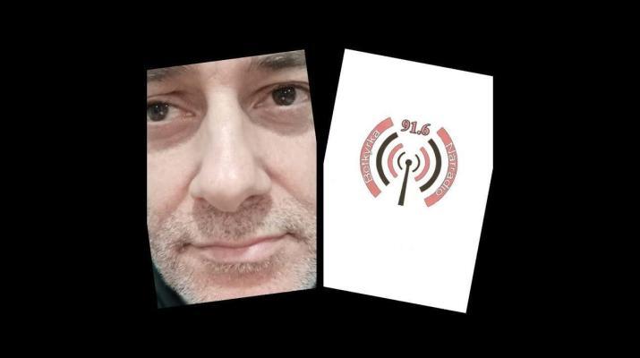 Rafael Lomeña Varo presentado por Leandro Gasco en la radio sueca