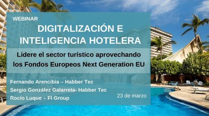 Webinar:  Digitalización e inteligencia hotelera