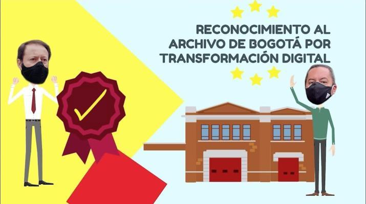 Reconocimiento al Archivo de Bogotá por Transformación Digital