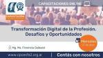 Transformación Digital de la Profesión. Desafíos y Oportunidades