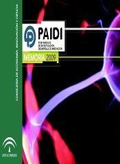 Memoria del Plan Andaluz de Investigación, Desarrollo e Innovación 2009