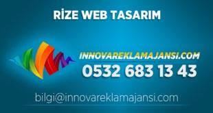 Rize Derepazarı website tasarım