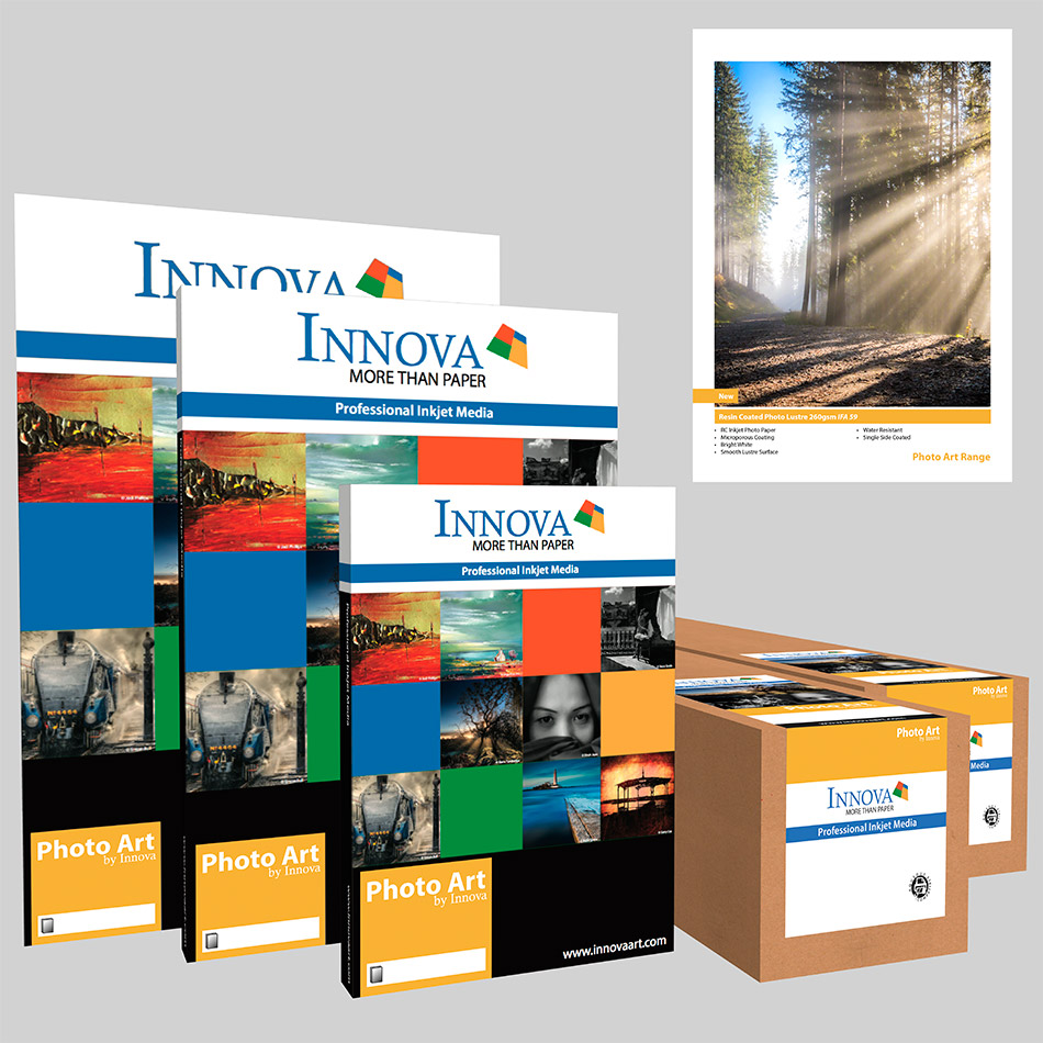 Resin Coated Photo Lustre 260gsm IFA 59