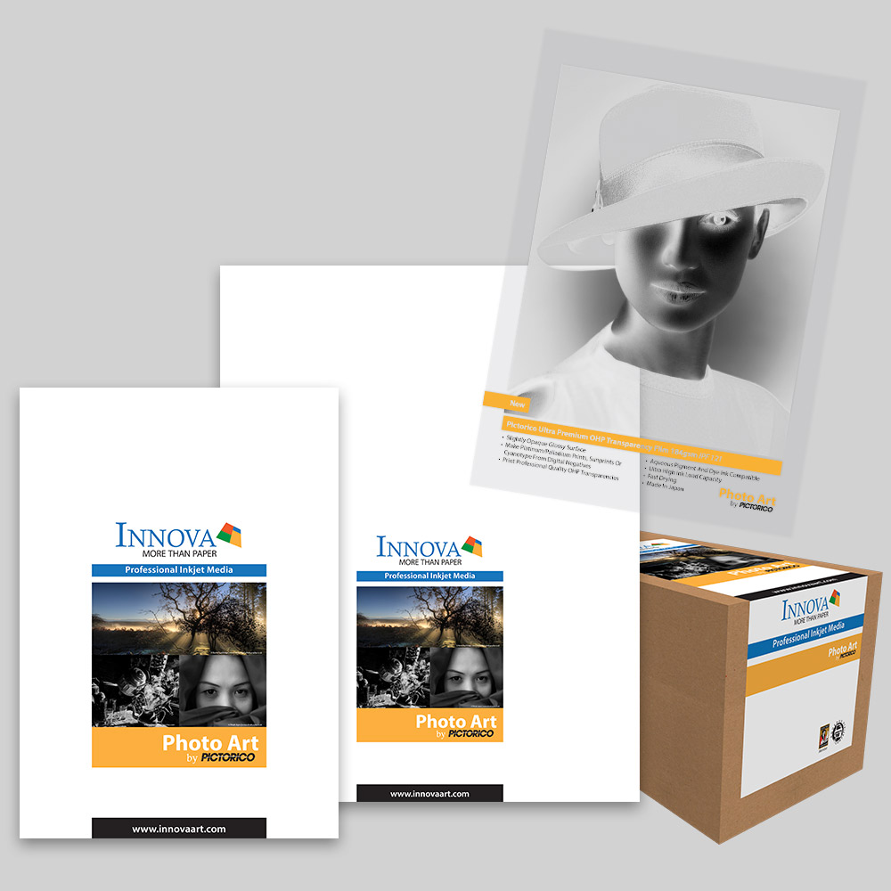 Pictorico Ultra Premium OHP Transparency Film 184gsm (IPF-121) | Innova Photo Art by Pictorico