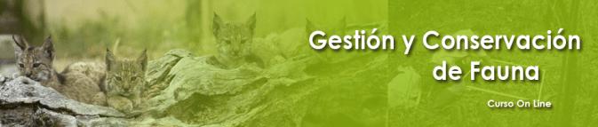 Gestión y Conservación de Fauna