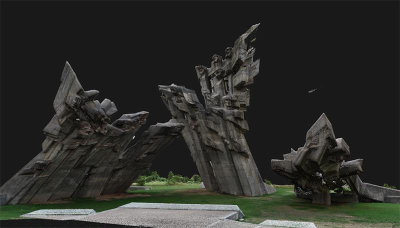 Kaunas-ninth-fort-3d-model-innovaconcrete-sampling