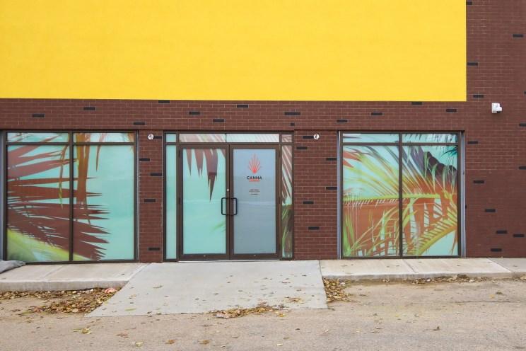 New Retail Construction - Canna Cabana Exterior