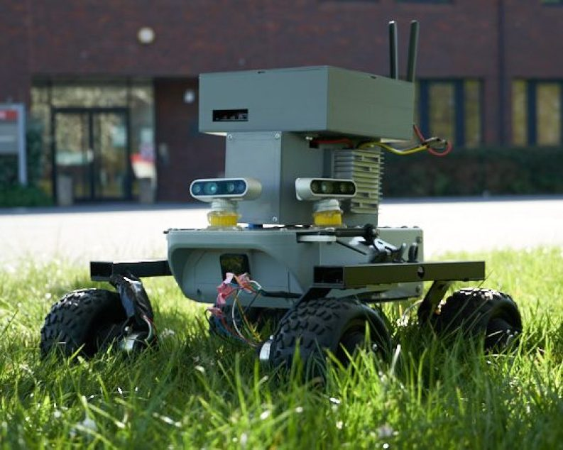AgriRobot vehicle prototype