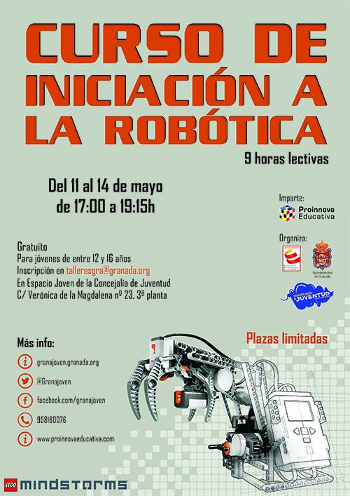 Iniciación a la robótica con Lego Mindstorms en Granada.