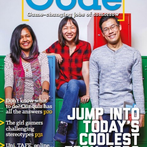Careers with Code magazine: Three Articles