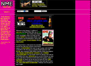Old NME site