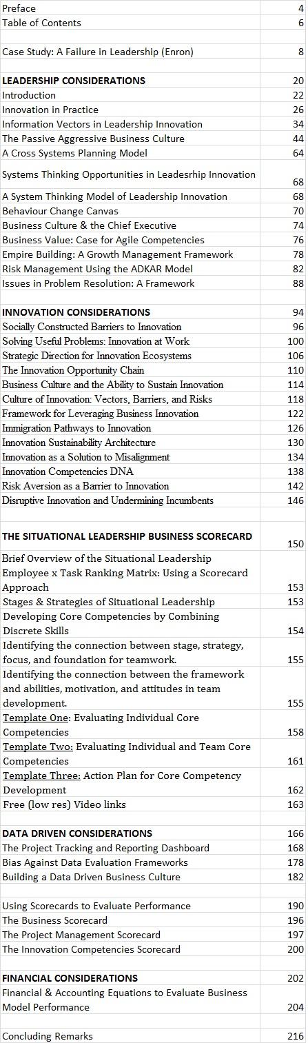 Innovate Vancouver - Leadership Innovation Book