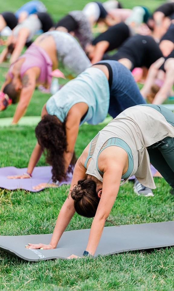 Yoga at Bailey Park