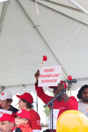 American Association Heart Walk-2