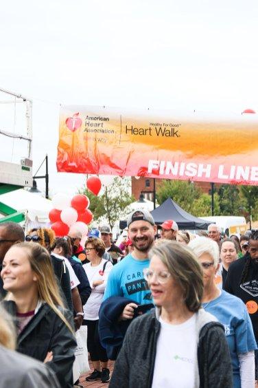 American Association Heart Walk-35