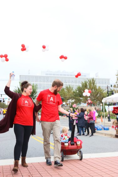 American Association Heart Walk-91