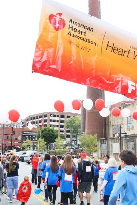 American Association Heart Walk-94