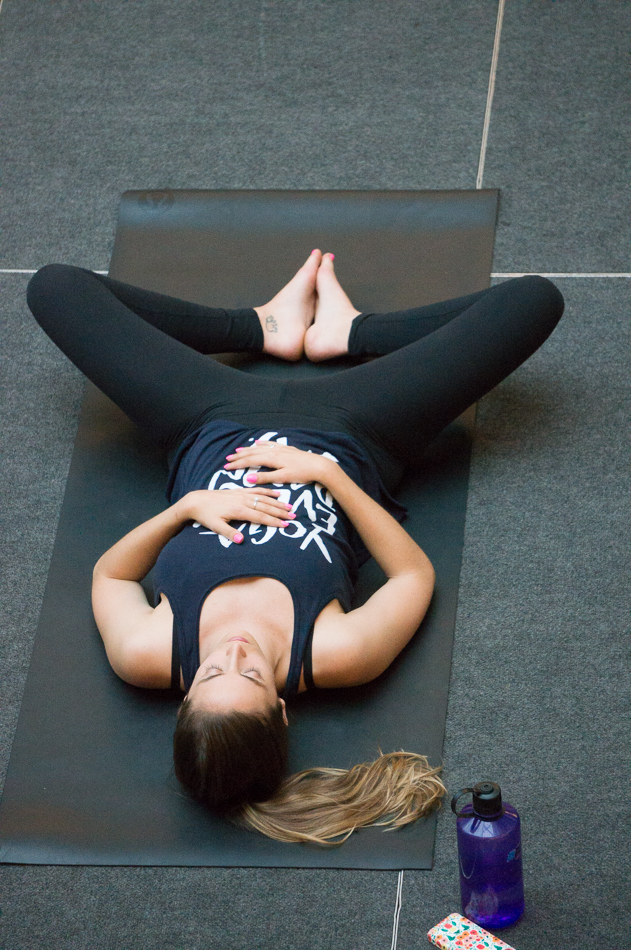 Yoga event at Biotech Place-free community yoga event sponsored by The Kimpton Cardinal Hotel in partnership with Wake Forest Innovation Quarter and PAZ Studios.
