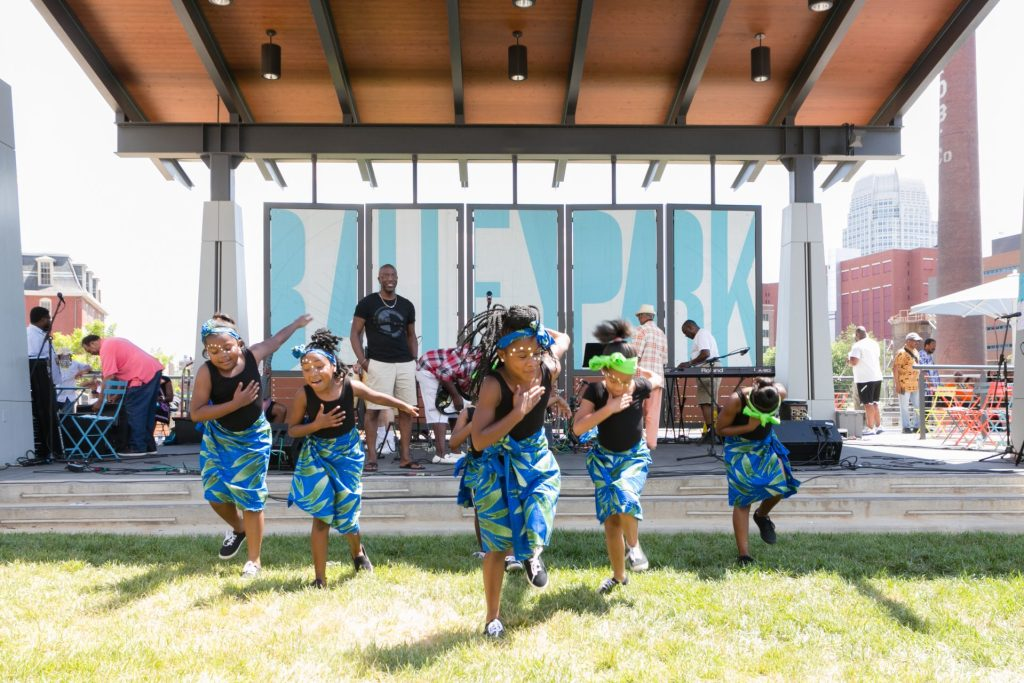 The Innovation Quarter facilitates the annual Juneteenth Festival to advance spatial justice and social equity.