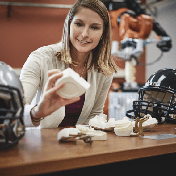 Wake Forest University and the Childress Institute for Pediatric Trauma partner to make youth football safer.