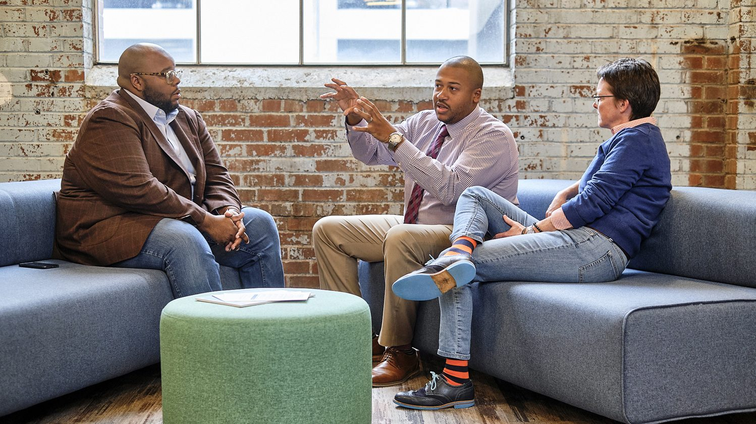 ACCESS mentors chat about ways to support Winston-Salem's startup ecosystem and minority-owned startups