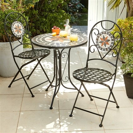 Mosaic Bistro Outdoor Furniture Innovations