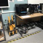 HCUC IOT Lab - 3D printing alongside more traditional fabrication machines