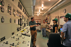 Calpine power plant control room